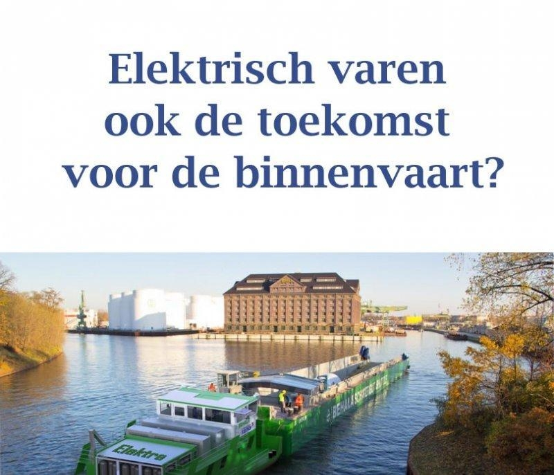 Elektrisch vrachtschip